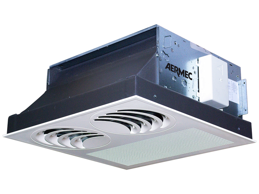 Ceiling mounted fan coil unit VEC_I by AERMEC