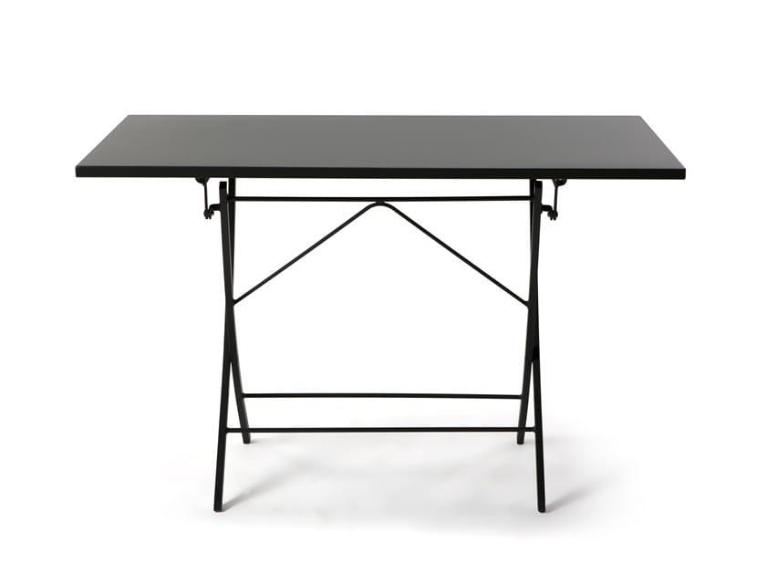 Table de jardin pliante rectangulaire en métal VEGAS ...