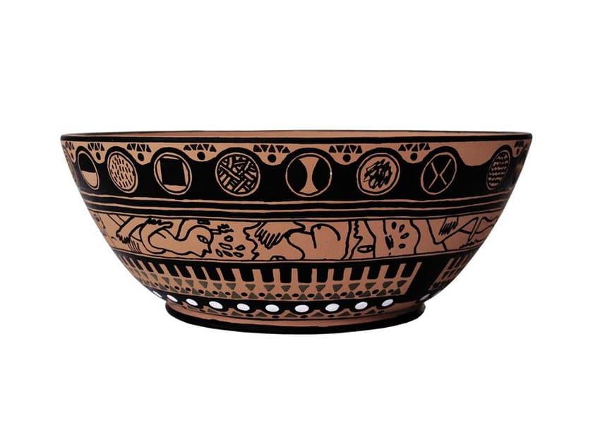 Terracotta vase VEIA IV by Kiasmo