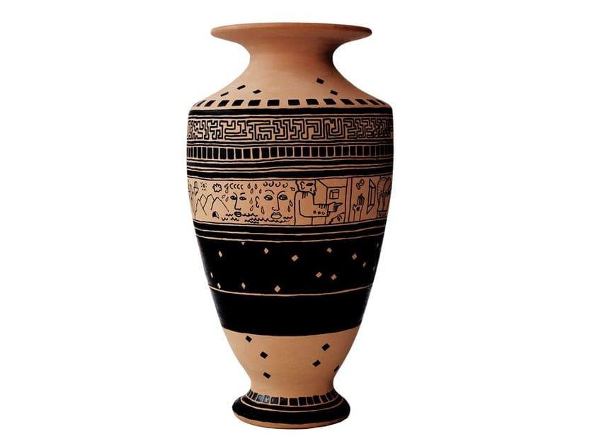 Terracotta vase VEIA VI by Kiasmo