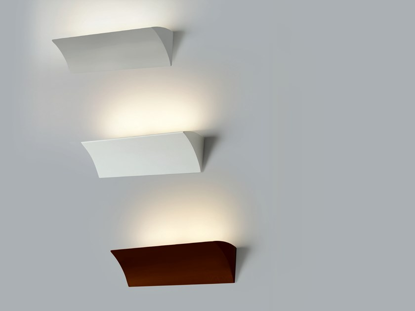 LED indirect light wall lamp VELA by Cattaneo