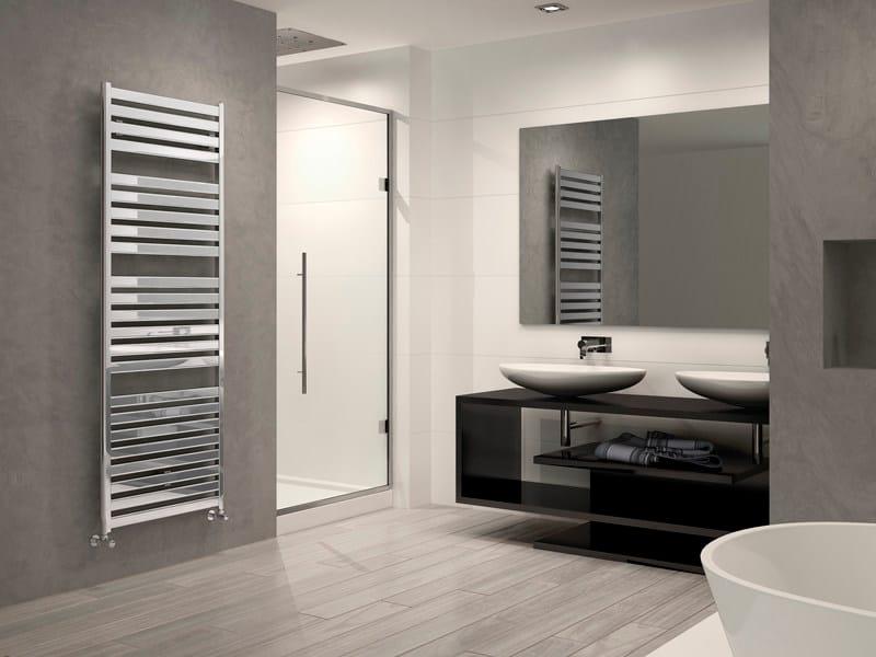 Chrome Plated Steel Towel Warmer Vela
