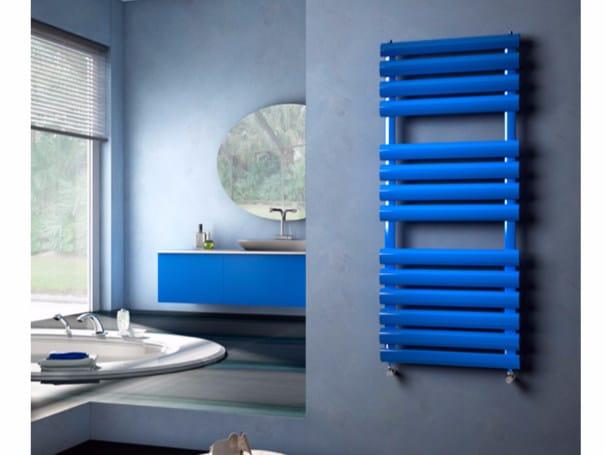 Vertical wall-mounted towel warmer VELA | Towel warmer by Hotwave