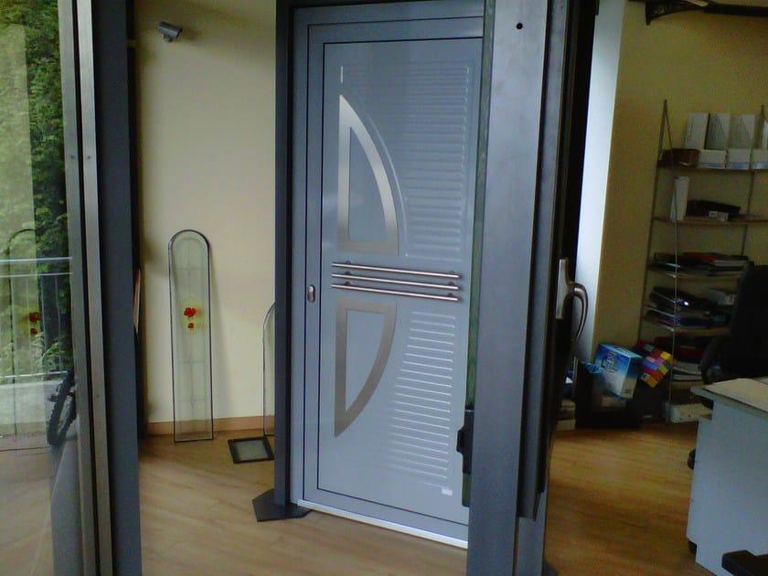 Aluminium armoured door panel VELE/X by ROYAL PAT