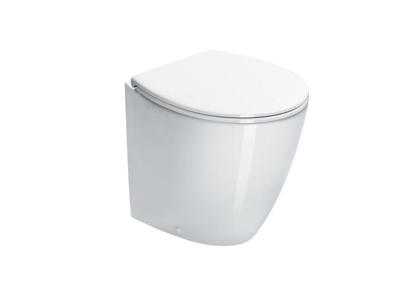 Floor mounted ceramic toilet VELIS | Floor mounted toilet by CERAMICA CATALANO