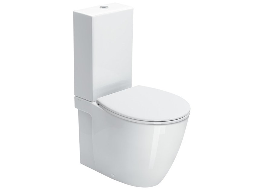 Floor mounted toilet VELIS | Toilet with external cistern by CERAMICA CATALANO
