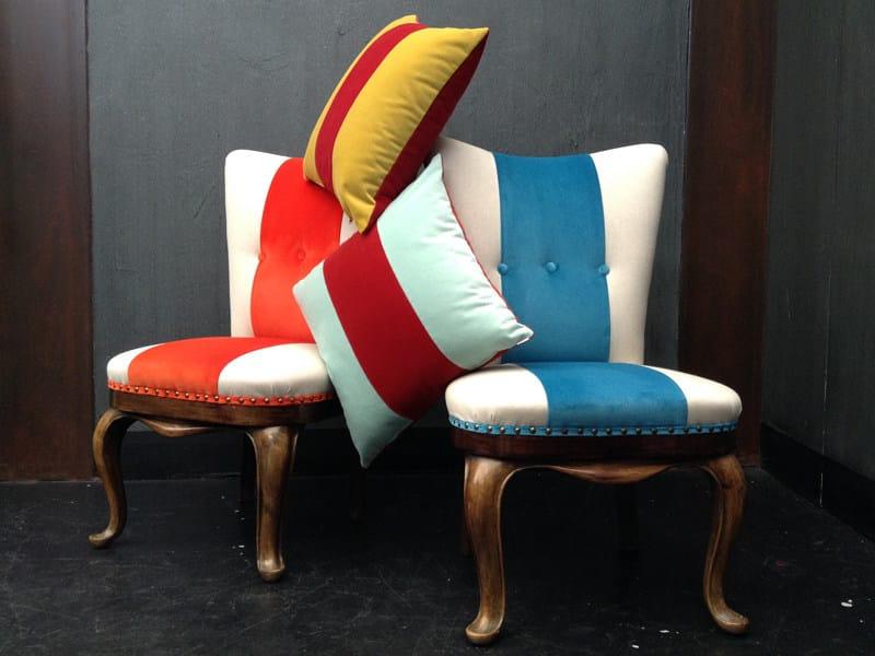 Solid-color velvet fabric COTTON VELVET by l'Opificio