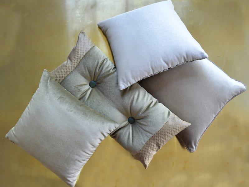 Solid-color velvet fabric VISCOSE VELVET by l'Opificio