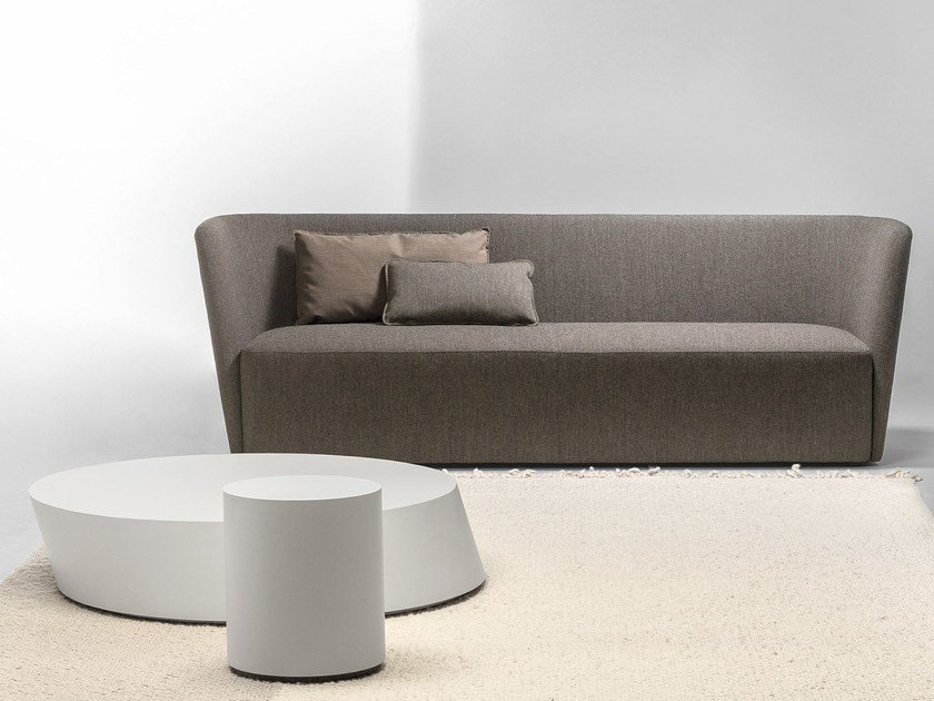 3 Seater Leisure Sofa Velour By La Cividina