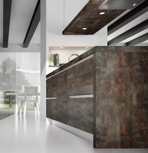 Schön Versteckte Küche Aus HPL Mit Halbinsel VELVE   Küche Mit Halbinsel By De  Rosso