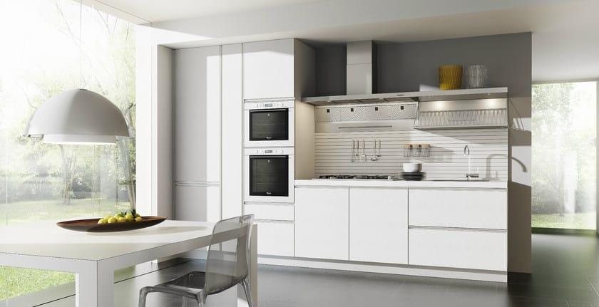 Schön Zeilen  Küche Aus HPL Ohne Griffe VELVE   Küche Ohne Griffe By De Rosso