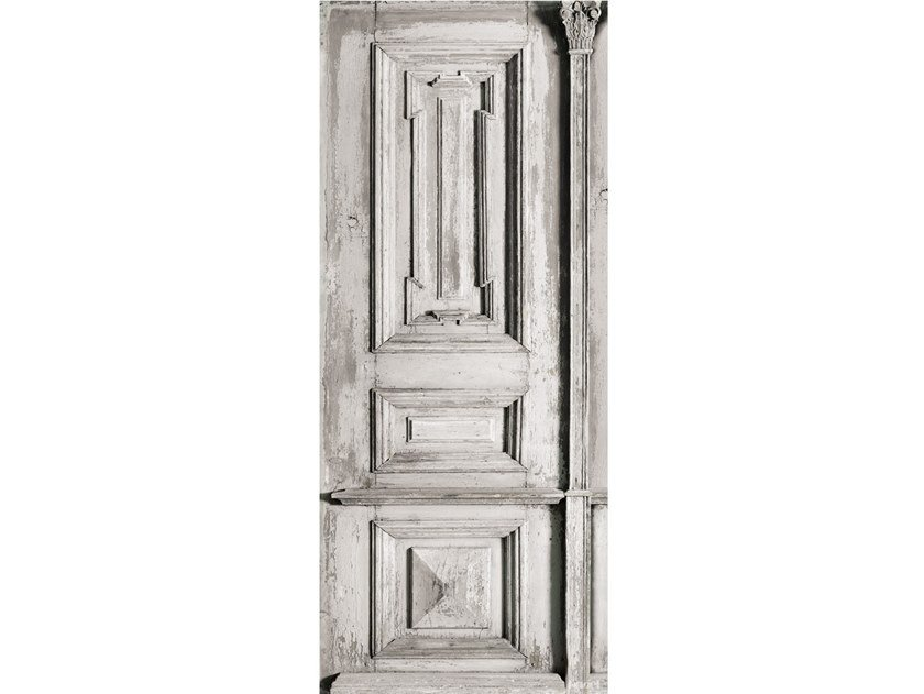 Arazzo in poliestere XIXTH MOLDING DOOR by Koziel