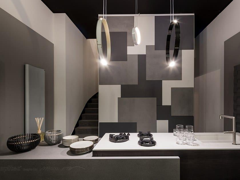 Lapitec® wall tiles / kitchen worktop VELVET by Lapitec