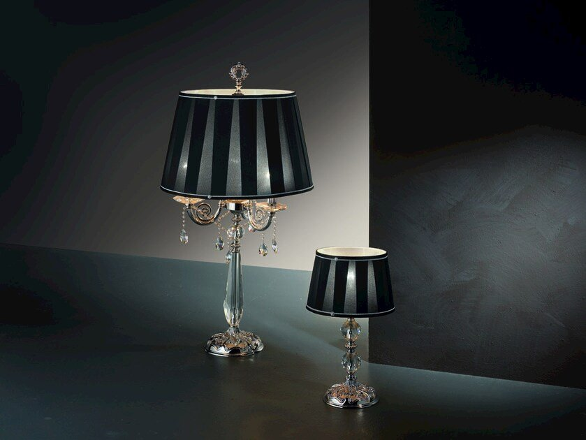 Table lamp with Swarovski® crystals VENERE LG3 LP1 by Euroluce Lampadari