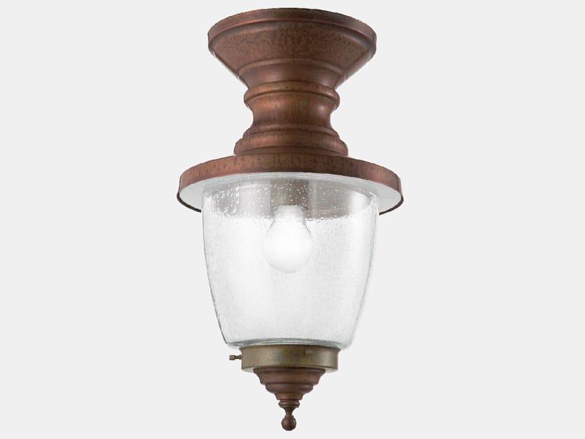 Lampada da soffitto per esterno in metallo VENEZIA 248.03.ORT by Il Fanale