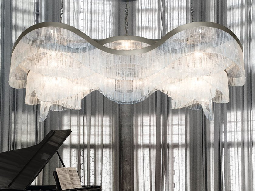 Pendant lamp with crystals VENEZIA 4815 by Patrizia Volpato