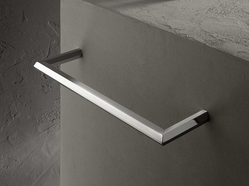 Porta asciugamani a barra in acciaio VENEZIA | Porta asciugamani by Fantini Rubinetti