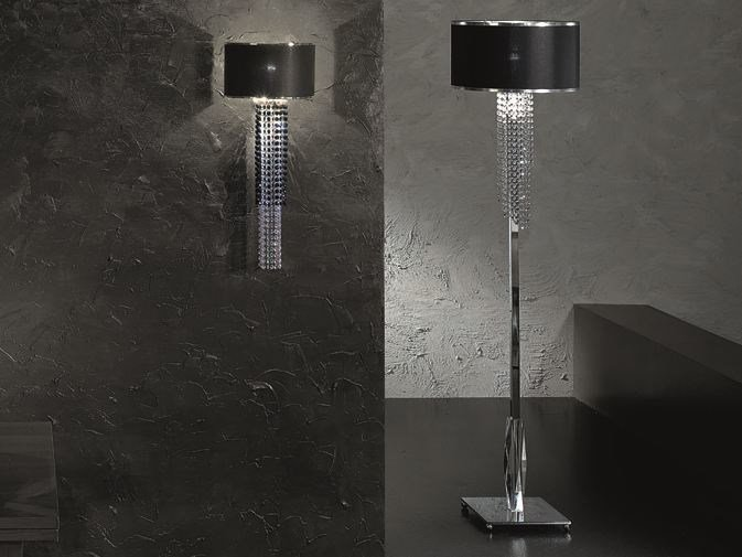 Floor lamp with Swarovski® crystals VENICE SUPERLUX PT1 by Euroluce Lampadari