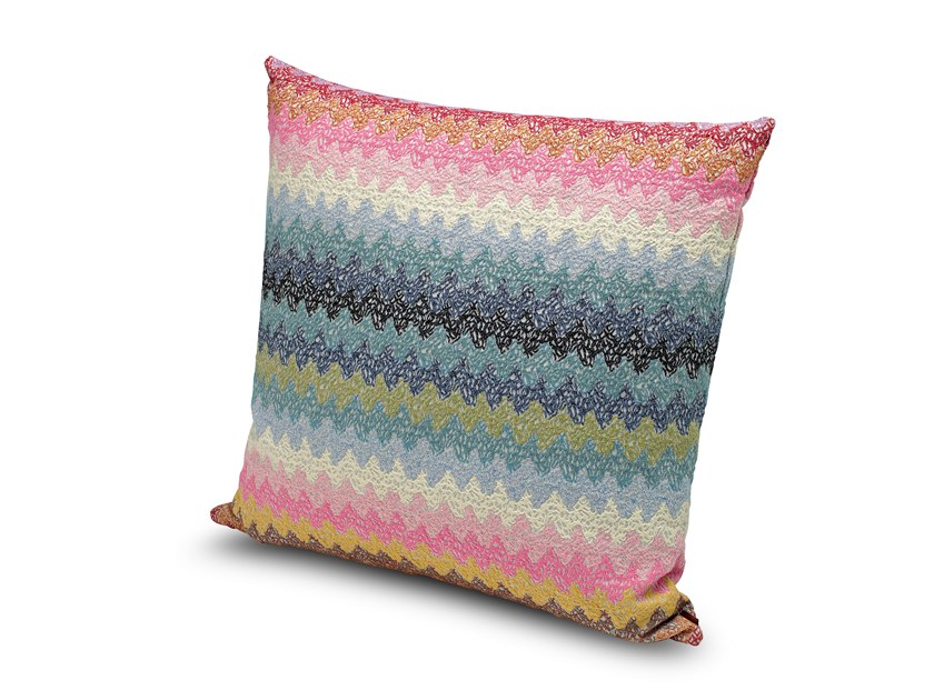 Square fabric cushion VENTIMIGLIA by MissoniHome