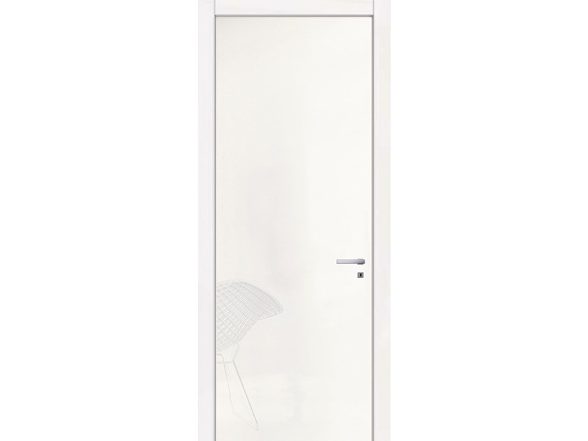 Hinged lacquered door VENUS 11 LACCATO BIANCO by GD DORIGO