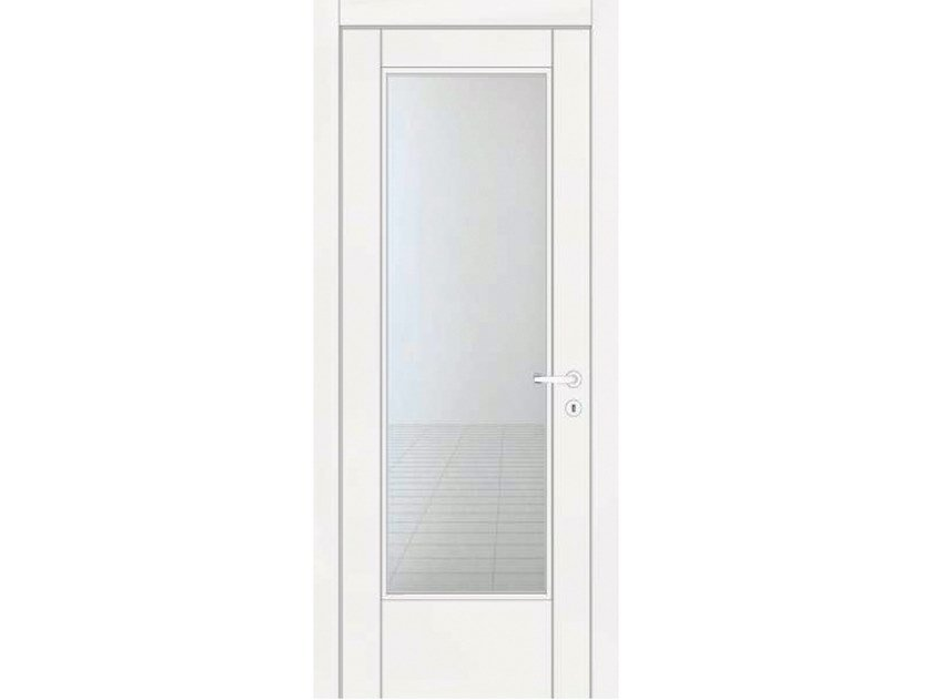 Hinged lacquered door VENUS 241V1 LACCATO BIANCO by GD DORIGO