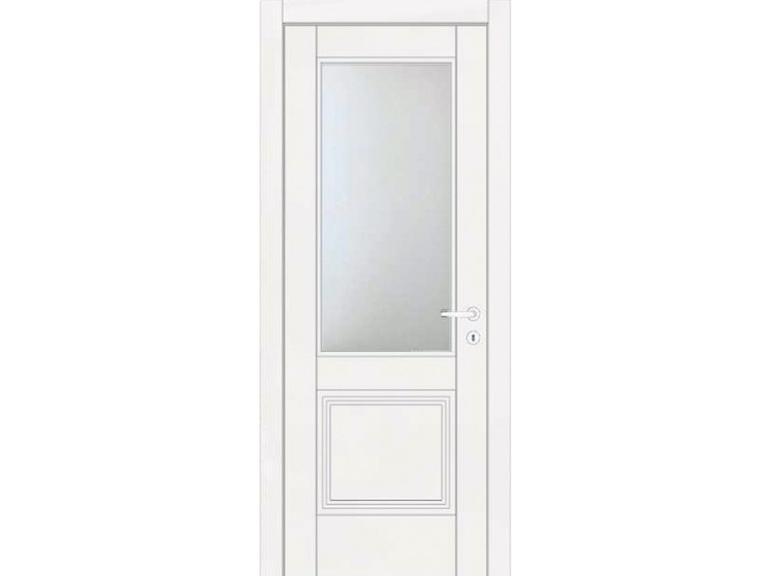Hinged lacquered door VENUS 445V1 LACCATO BIANCO by GD DORIGO