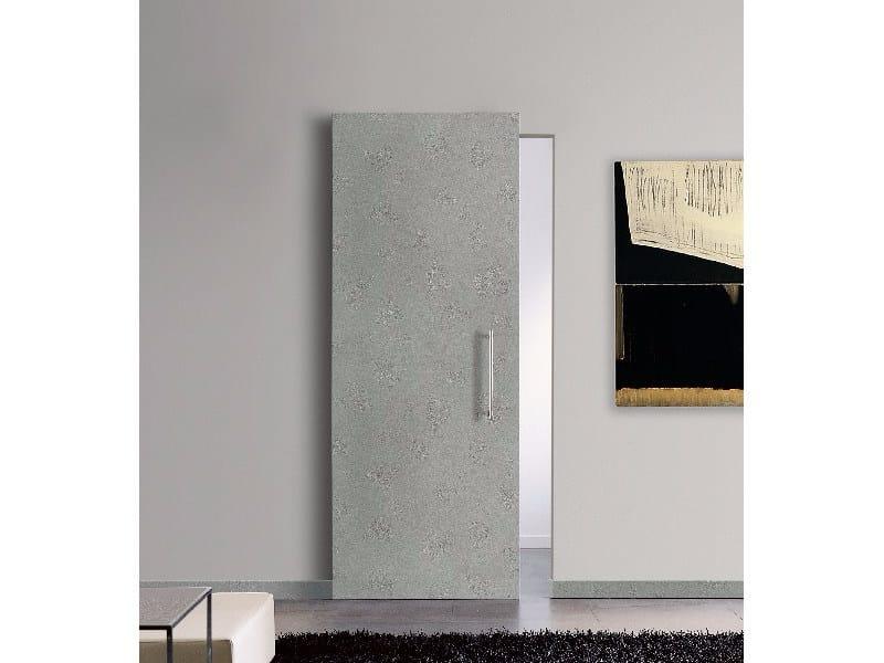 Porta scorrevole in legno VENUS 11 SCORREVOLE TUFO CENERE by GD DORIGO