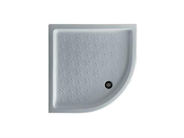 Corner anti-slip shower tray VENUS 90 by GALASSIA