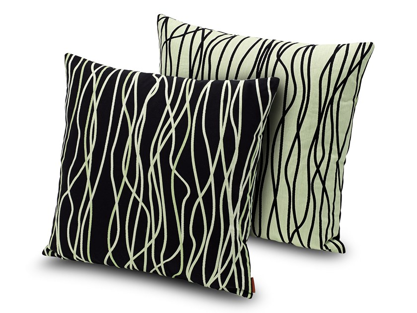 Motif square cushion VERBANIA | Cushion by MissoniHome