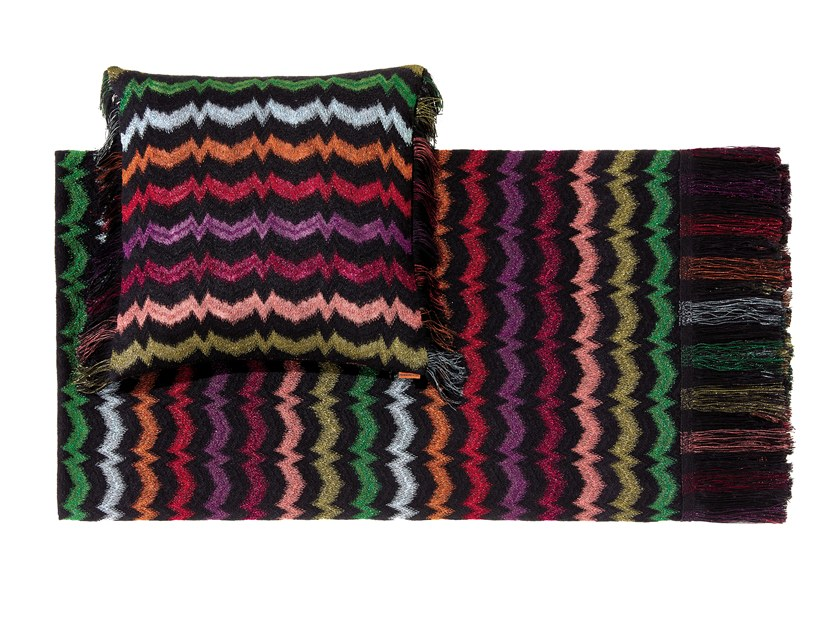 Fabric lap robe VERBENA by MissoniHome
