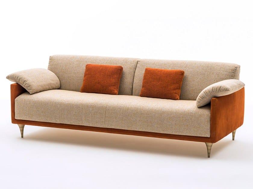 3 seater Nabuk sofa VERDI | 3 seater sofa by OAK