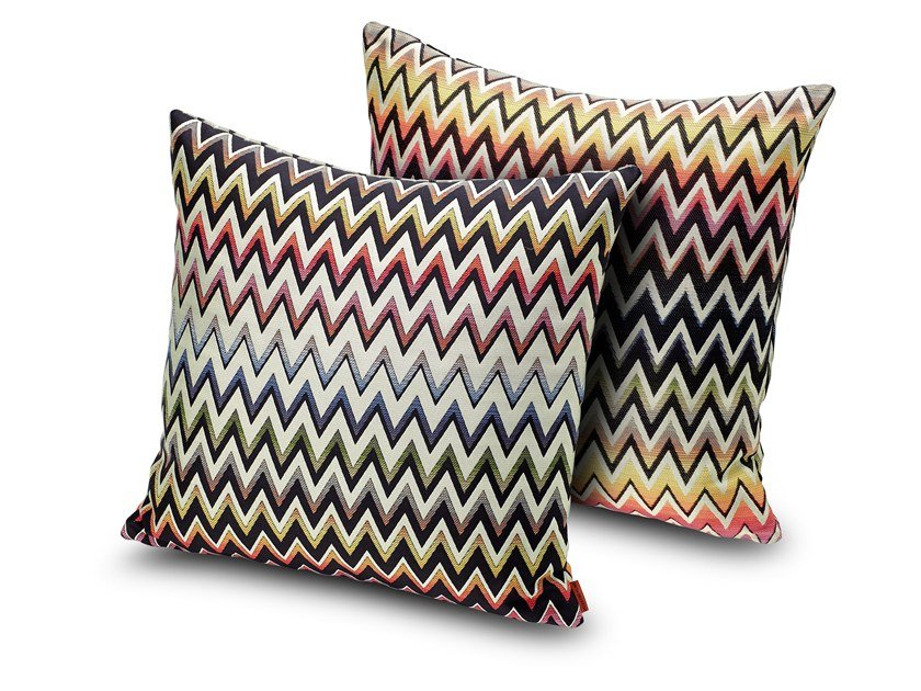 Trevira® CS cushion with fire retardant padding VERNAL | Cushion by MissoniHome