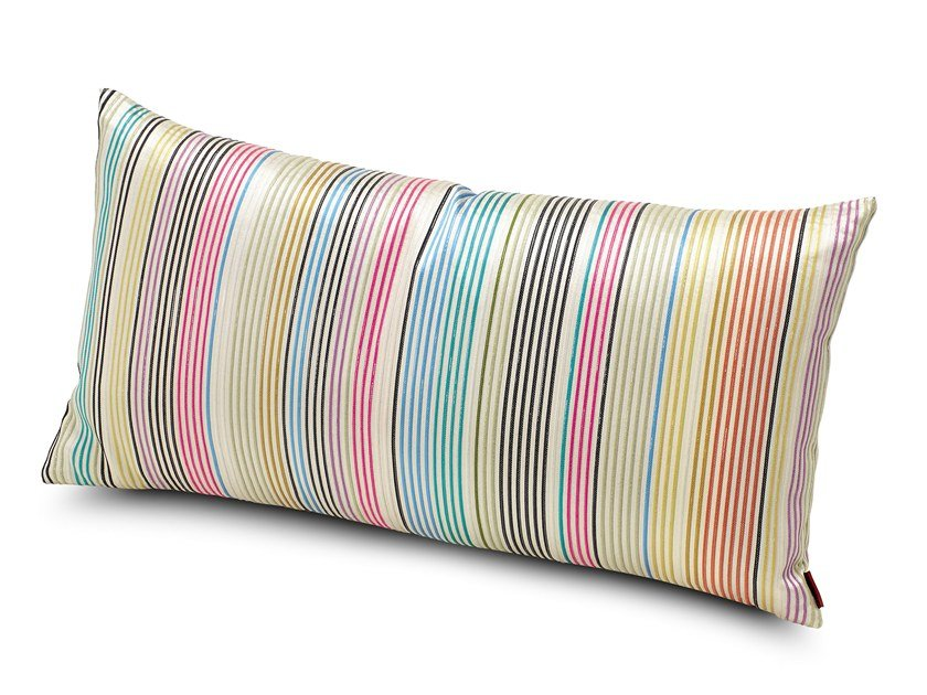Striped fabric cushion VERNAZZA by MissoniHome