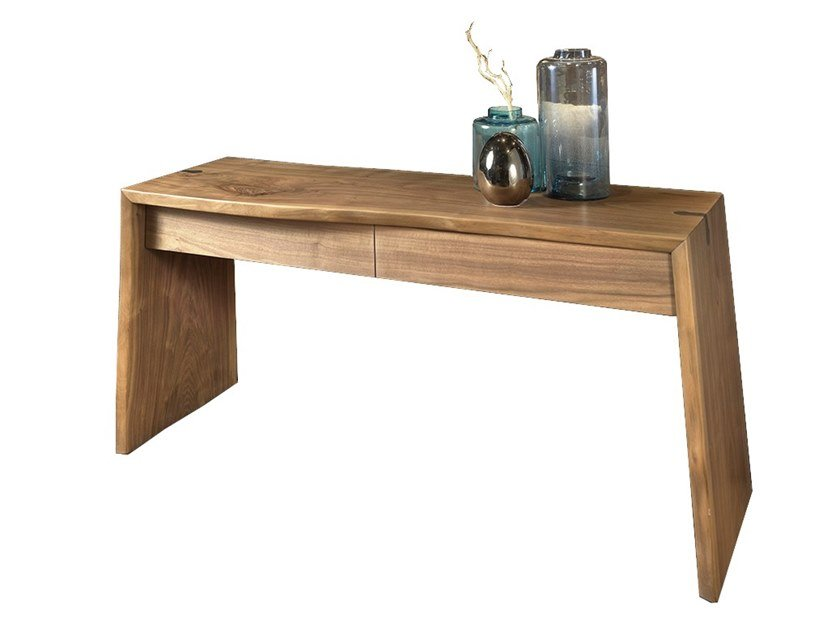 Walnut console table with drawers VERO L1022/140C | Console table by Arte Brotto