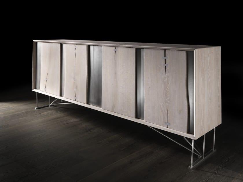 Sideboard with doors VERO L430N/L   Oak sideboard by Arte Brotto