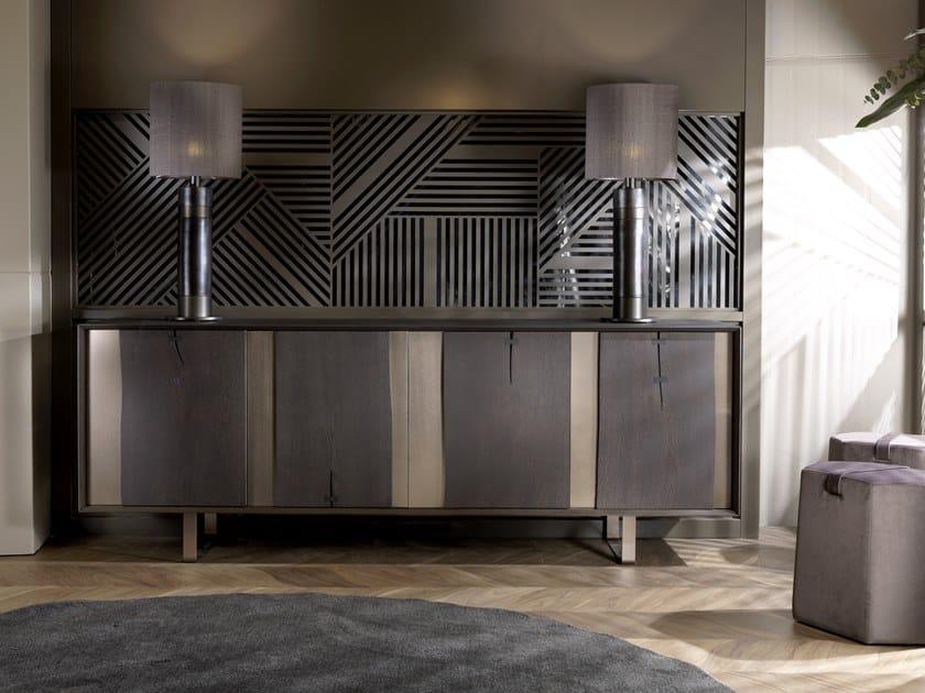 Sideboard with doors VERO L430N/M | Oak sideboard by Arte Brotto
