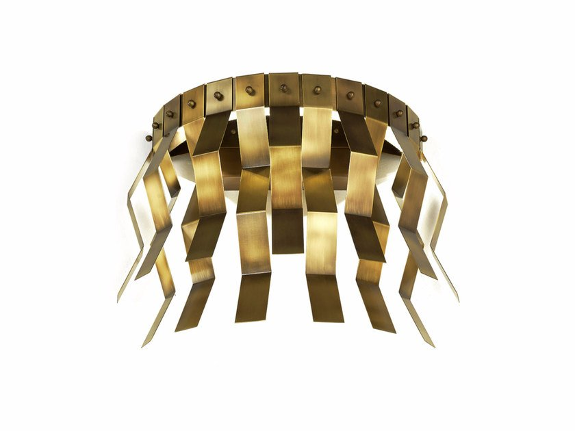 LED brass wall lamp VERONICA | Brass wall lamp by MARIONI