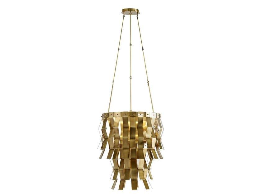 Brass pendant lamp VERONICA | Brass pendant lamp by MARIONI