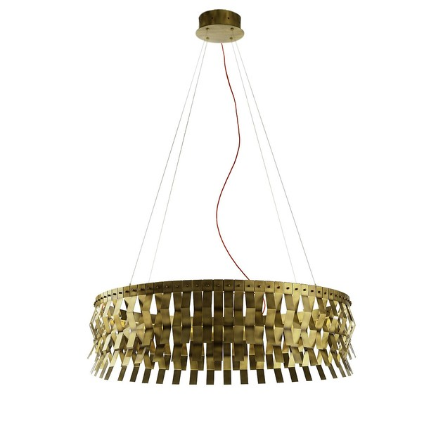 Brass pendant lamp VERONICA | Pendant lamp by MARIONI