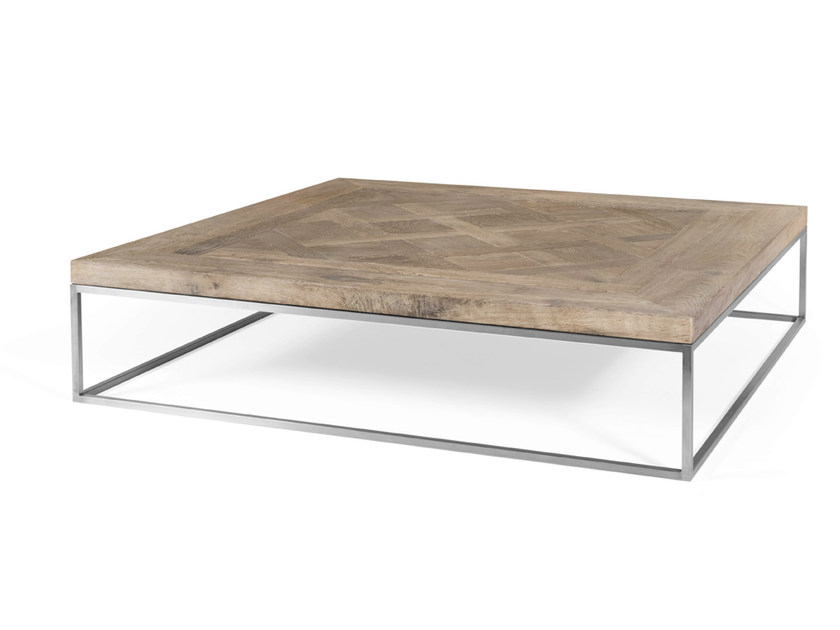 Oak coffee table for living room VERSAILLES by CABUY D.