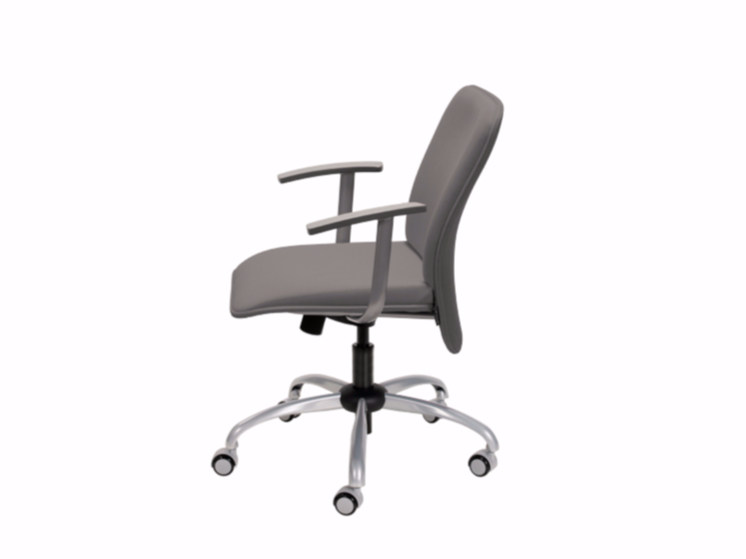 Fabric task chair with armrests VERSO | Task chair with armrests by NARBUTAS