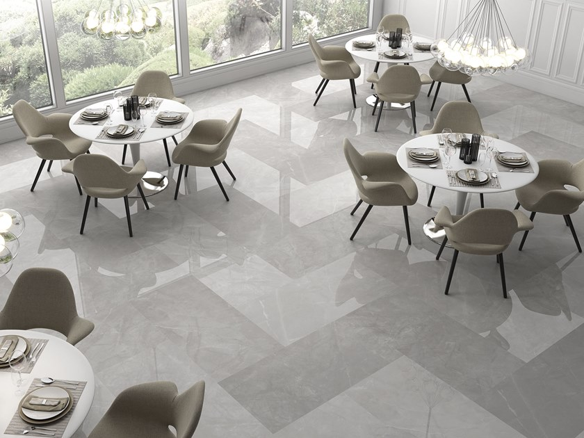 Porcelain flooring with marble effect PULPIS | Porcelain flooring by ITT Ceramic