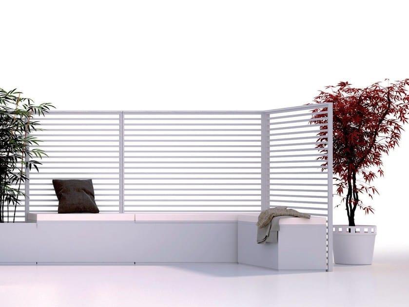 Aluminium vertical gardening trellis SHAPE | Vertical gardening trellis by UNOSIDER