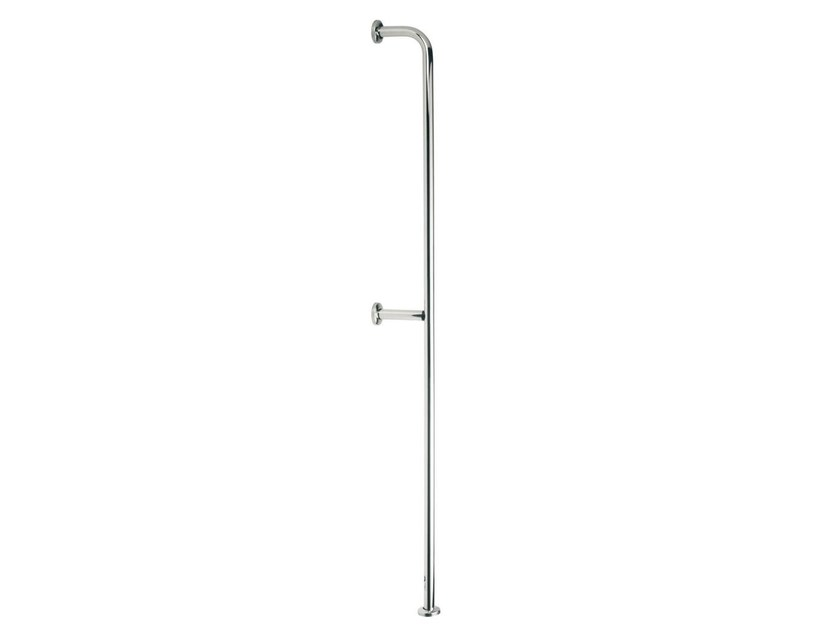 Fixed vertical stainless steel grab bar INOX | Vertical grab bar by Saniline