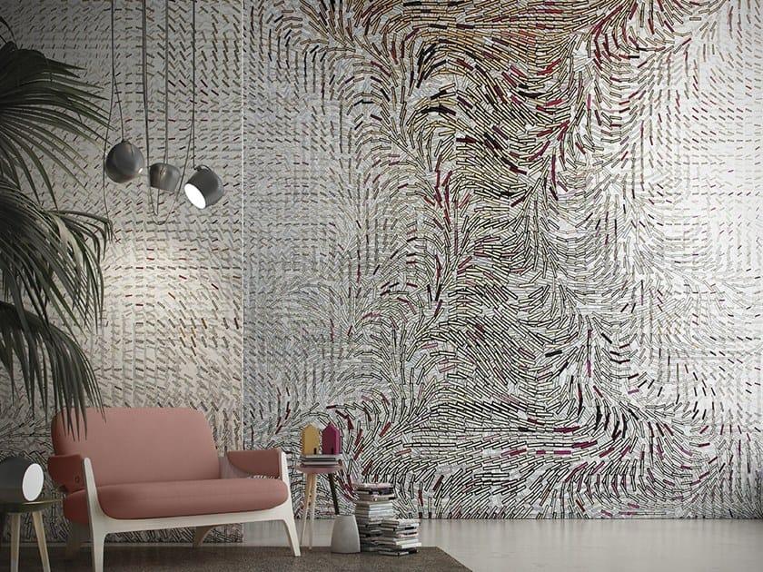 Geometric Digital printing wallpaper VERTIGO by GLAMORA
