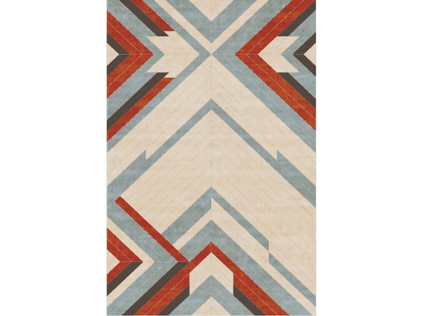 rectangular fabric rug vertus by un tapis paris - Tapis Paris
