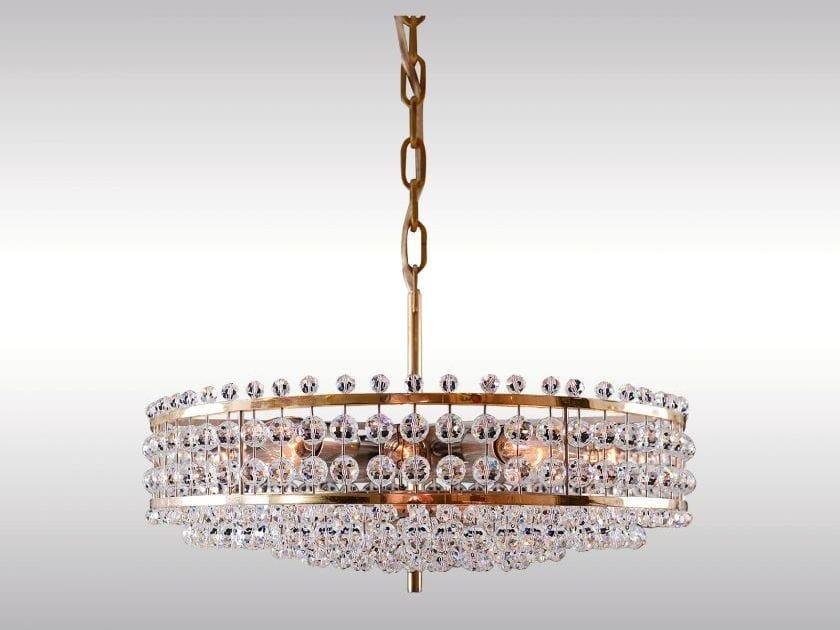 Lampada a sospensione in cristallo in stile classico CHARMING BAKALOWITS CHANDELIER by Woka Lamps Vienna