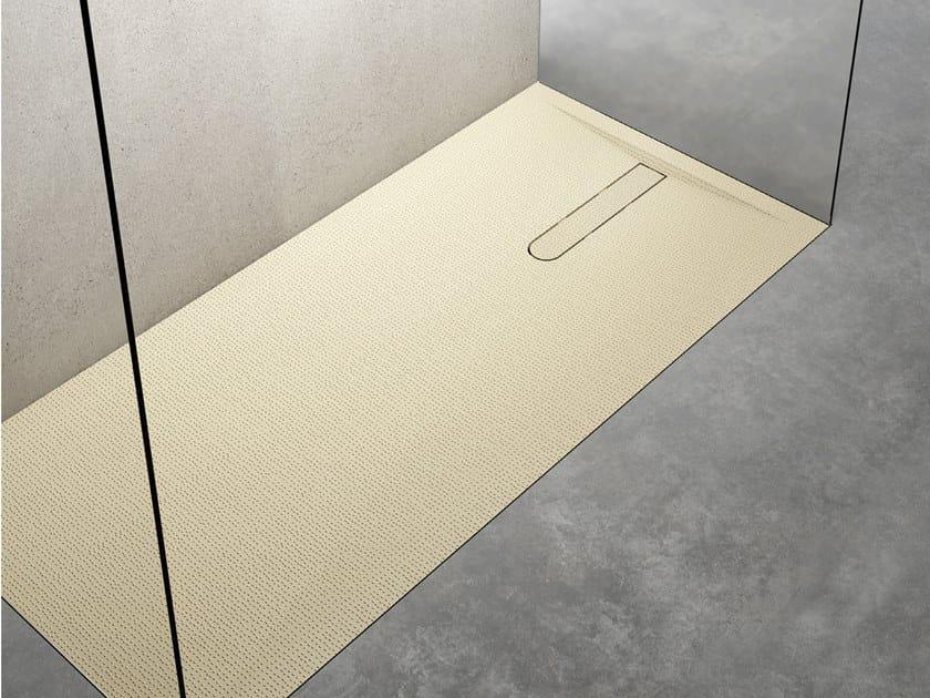 Vesuvius Piatto Doccia Filo Pavimento By Relax Design Design Zetae Studio