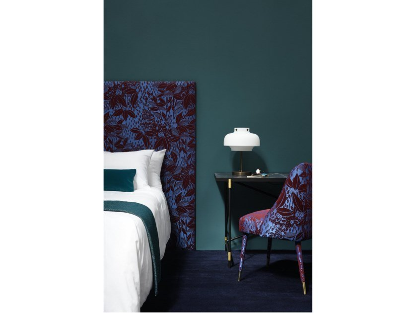 Polyester fabric VETIVER by LELIEVRE