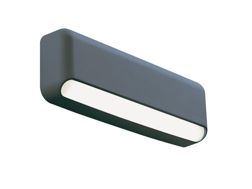 Segnapasso a LED a parete in alluminio per esterni VEYRON 99225 by SOVIL